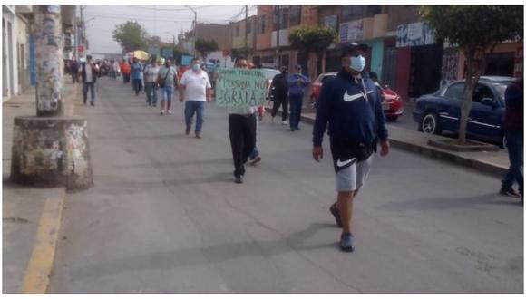 Alcalde del distrito zapatero, Víctor Rebaza, señaló que paro convocado por los dirigentes del Sindicato Unitario de Trabajadores Municipales de El Porvenir es ilegal.