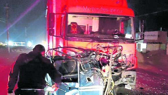 Violento hecho se registró en la carretera Lambayeque, cuando la víctima manejaba una mototaxi.