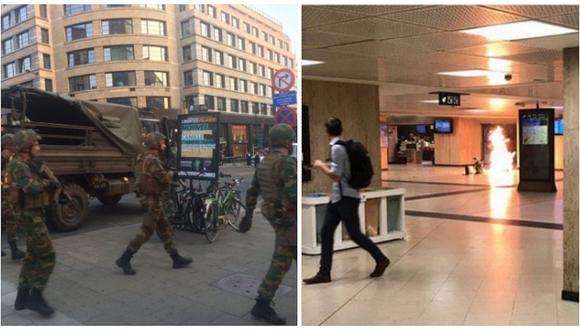 Bruselas: hombre que produjo la explosión simpatiza con el Estado Islámico