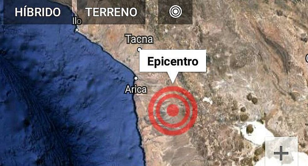 Fuerte sismo de 5.9 grados remece el sur del Perú