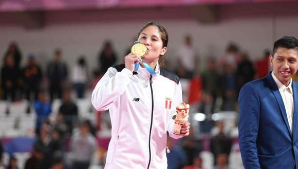 Alexandra Grande partió a Japón para competir en Tokio 2020. (Foto: GEC)