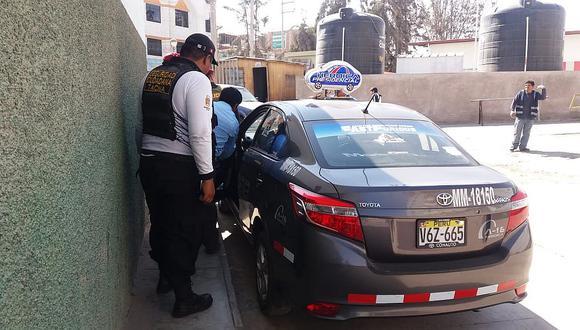 Taxista termina en el hospital tras liarse a golpes con pasajero