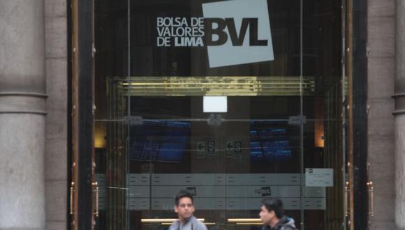 El índice S&P/BVL Perú General caía un -1.11%. (Foto: GEC)