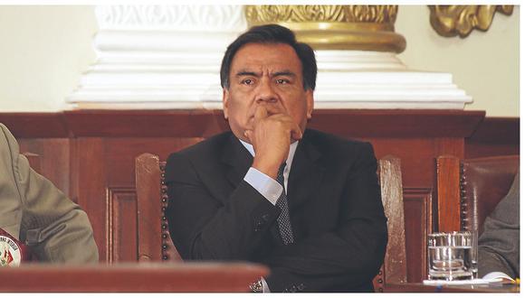 Rechazan pedido de nulidad de fiscal de la Nación contra congresista Javier Velásquez