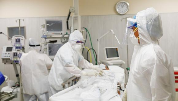 Coronavirus Perú: solo quedan seis camas UCI disponibles en Lima y Callao, asegura la Defensoría del Pueblo. Foto: Andina
