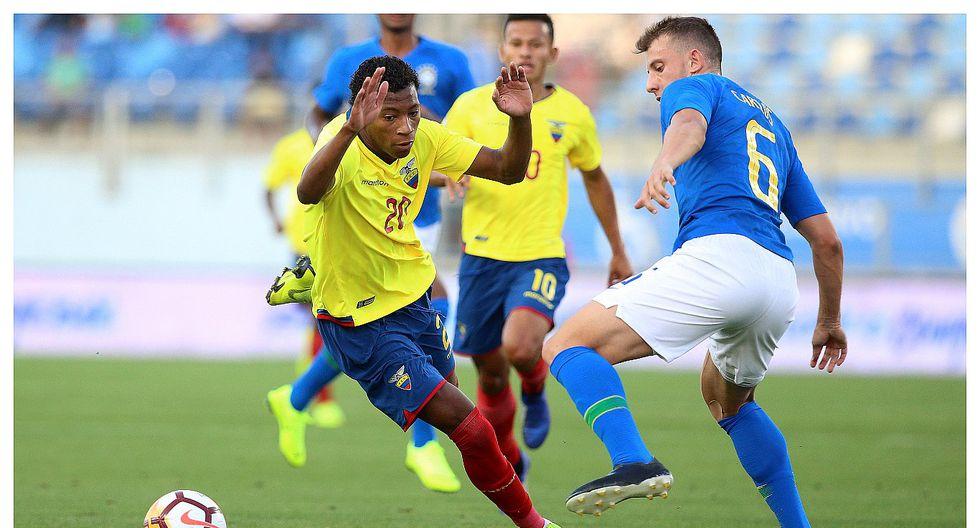 Sudamericano Sub 20: Brasil empató 0-0 con Ecuador y se hunde camino al Mundial de Polonia