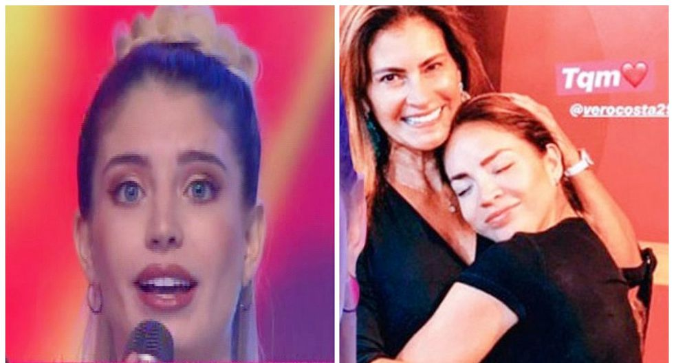 """Flavia Laos hace aclaración a Sheyla Rojas: """"La mamá de Patricio Parodi es mi suegra"""" (VIDEO)"""