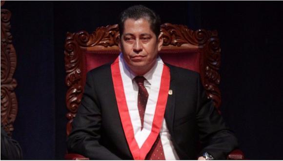 Eloy Espinosa-Saldaña cuestionó fallo en mayoría del TC sobre la vacancia presidencial por incapacidad moral permanente. (Foto: GEC)