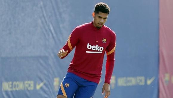 Ronald Araujo, duda en Barcelona para la Supercopa de España. (Foto: FC Barcelona)