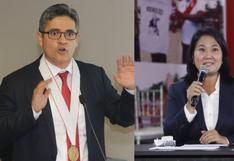 José Domingo Pérez pide se dicte prisión preventiva contra Keiko Fujimori