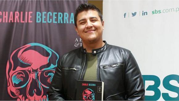Charlie Becerra presenta su primera novela policíaca con alta dosis de aventura y crimen organizado
