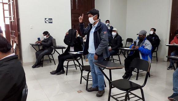 Huancavelica: Protestan por exoneración de tarifa del servicio de electricidad