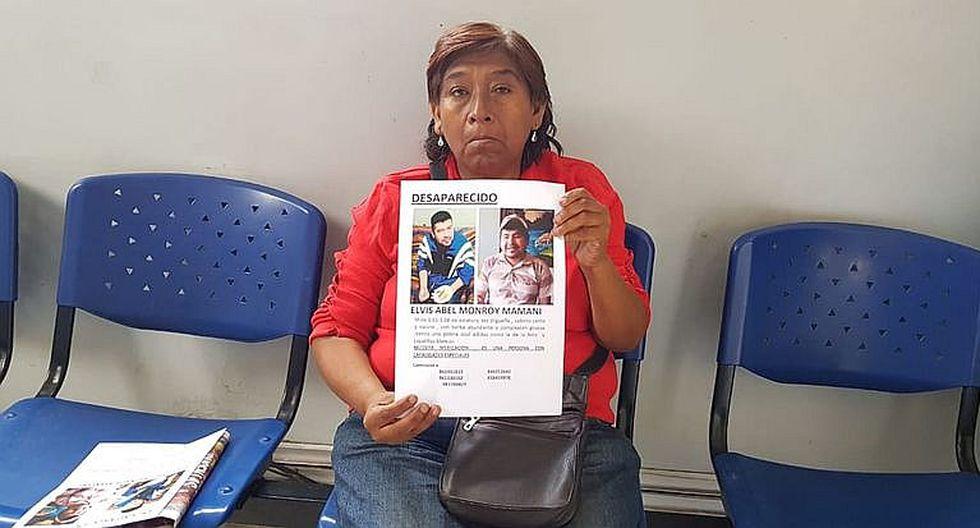 Madre busca a su hijo desaparecido hace un  mes en Bustamante