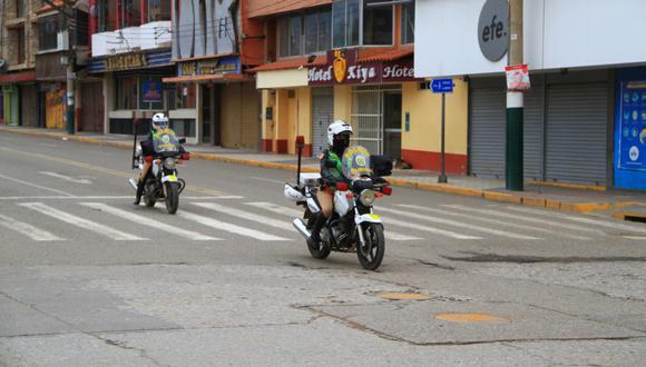 Policía patrulló las calles de la región