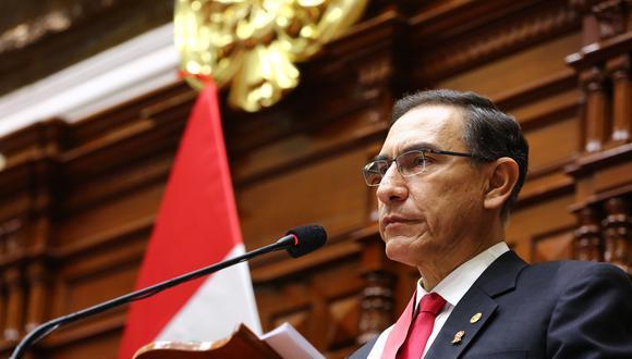 Martín Vizcarra afronta un proceso de vacancia que podría dejarlo fuera del Ejecutivo. (Foto: Archivo Fotográfico del Congreso de la República)