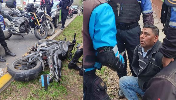 El detenido registra un amplio prontuario policial por delitos contra el patrimonio, robo, entre otros. Foto: Municipalidad de Magdalena del Mar.