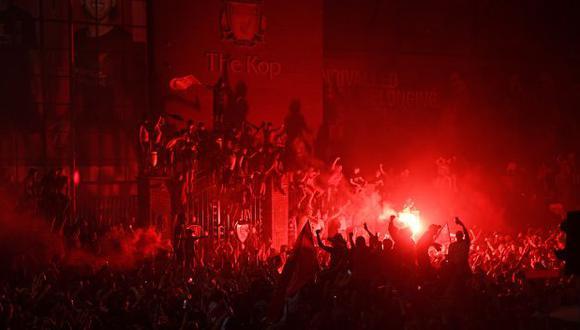Liverpool salió campeón de la Premier League por primera vez en la historia. (Foto: AFP)
