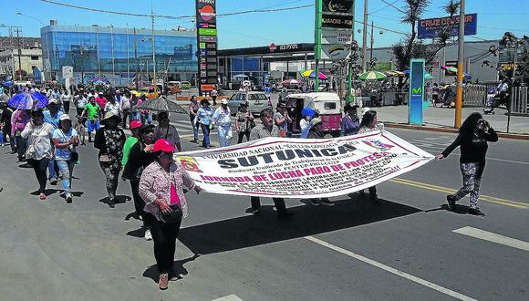 Catedráticos de la UNICA en huelga indefinida por homologación docente