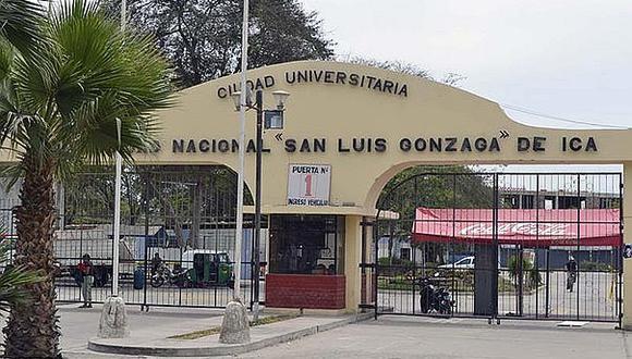 Sunedu: Universidad San Luis Gonzaga aún no cumple con elegir a nuevas autoridades
