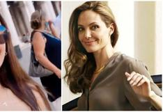 Rosángela Espinoza emocionada por su encuentro con Angelina Jolie en Venecia (VIDEO)