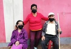 Esposos de 91 años reciben la vacuna contra el coronavirus en Chincha