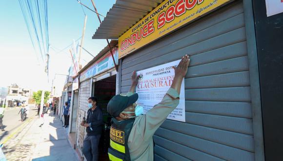Los propietarios de estos establecimientos tienen 5 días para regularizar sus documentos, caso contrario serán sancionados con una UIT. (Foto: GRA)