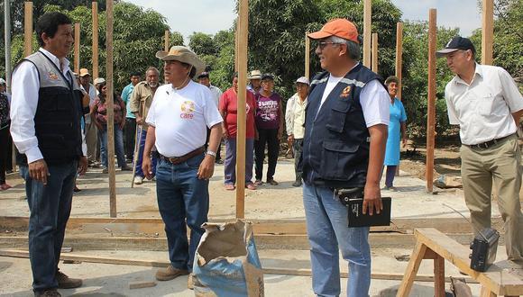 Lambayeque: Vivienda inspecciona la instalación de módulos