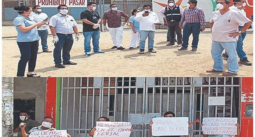 Vecinos rechazan atención de pacientes con COVID-19 en estadio de Sullana