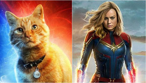 """El gato de """"Capitana Marvel"""" sería lo mejor de la película, según las primeras reacciones"""