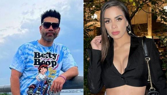 Vanessa López acusa a Tomate Barraza de haberla engañado con varias mujeres. (Foto: Composición de Instagram)