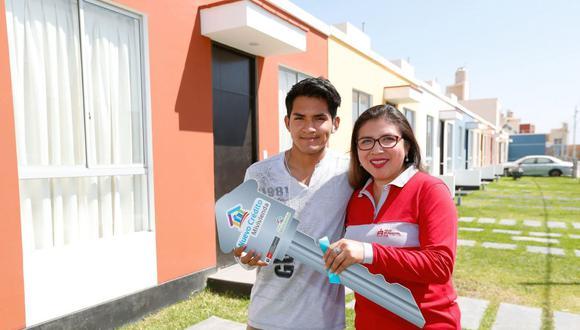 Programa del Fondo MiVivienda entrega tres tipos de subsidios para familias con ingresos que no superen los S/3.715, como requisito principal. (Foto: Andina)