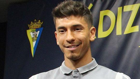 Jean Pierre Rhyner ha participado en ocho partidos del Cádiz en la Segunda de España. (Foto: Cádiz CF)