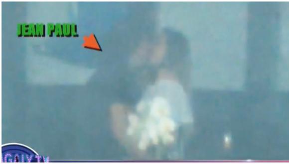 Pareja de Silvia Cornejo fue captado en comprometedora situación con la madre de su otro hijo. (Foto: Captura ATV)