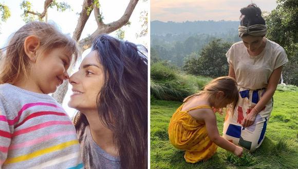 Aislinn Derbez  mostró en redes sociales cómo pasó el día al lado de su menor hija Kailani. (Foto: Instagram / @aislinnderbez).
