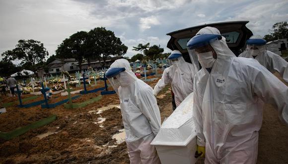 Brasil es uno de los países más castigados por la pandemia del COVID-19 en el mundo. (Foto: EFE/Raphael Alves)
