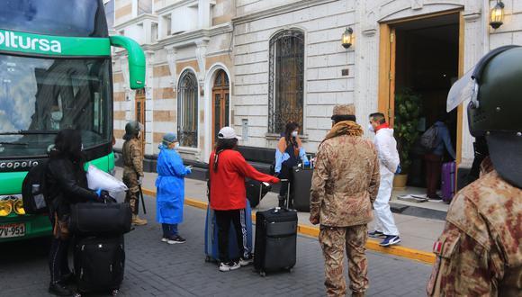 Personas permanecieron 15 días de cuarentena en hoteles  Eduardo Barreda