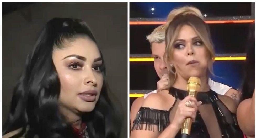 """Pamela Franco: así reaccionó luego de que Gisela Valcárcel la llamara """"gusana"""""""