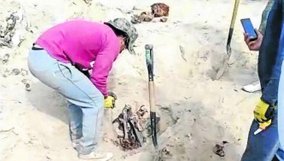 Hallan restos óseos en pampas de Hoja Redonda