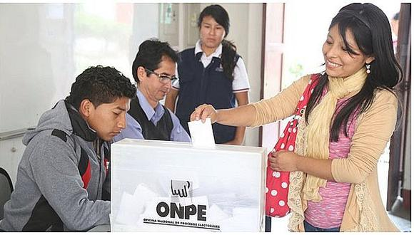 Más de 166.000 jóvenes votarán por primera vez en elecciones 2020