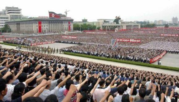 Cien mil norcoreanos rechazan resolución de Derechos Humanos de la ONU