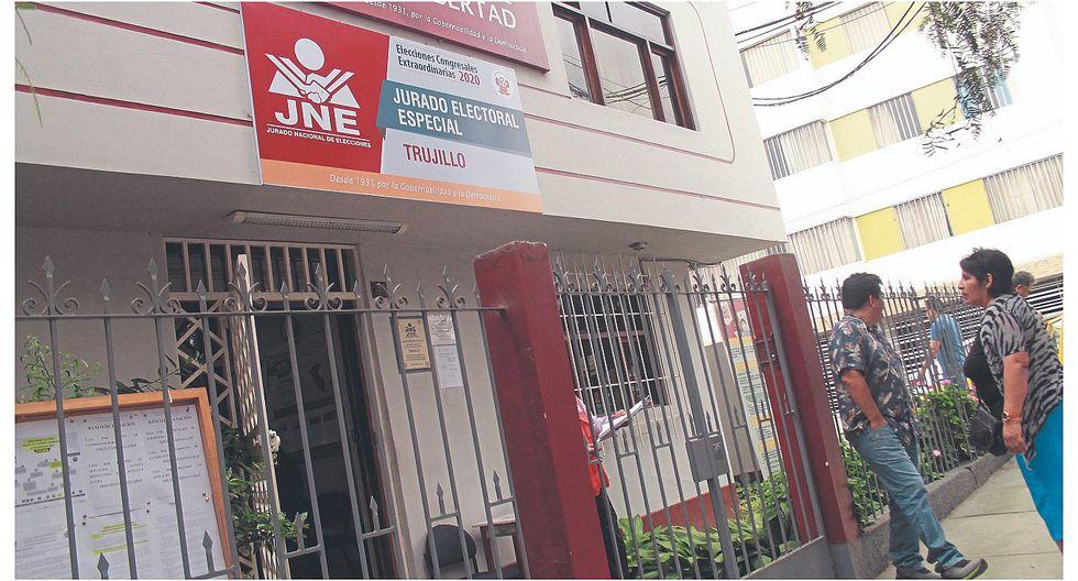 Apristas aún no logran inscripción ante el Jurado Electoral Especial