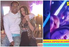 André Carrillo y Suhaila Jad reaparecen juntos en una fiesta en España