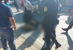 Choque entre dos motocicletas deja un policía muerto y a otro gravemente herido en Ica