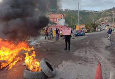Excesos, pérdidas y vandalismo se registró durante el cuarto día de paro en Ayacucho