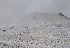 Nevadas afectan zonas altas de San Antonio de Putina