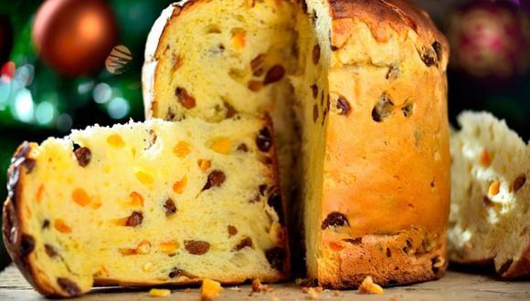 Una porción de 100 gramos de panetón tradicional untada con mantequilla o mermelada equivale al consumo de cinco a seis panes franceses respectivamente. (Foto: Shutterstock)