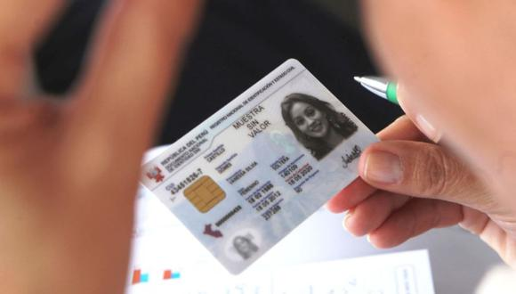 Todo lo que debes saber sobre los plazos y el trámite para renovar el DNI azul o electrónico. (Foto: Difusión)