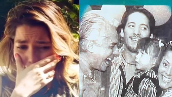 Frida Sofía genera controversia al publicar foto del pasado junto a su abuelo Enrique Guzmán. (Foto: Captura De primera mano/@ifridag)