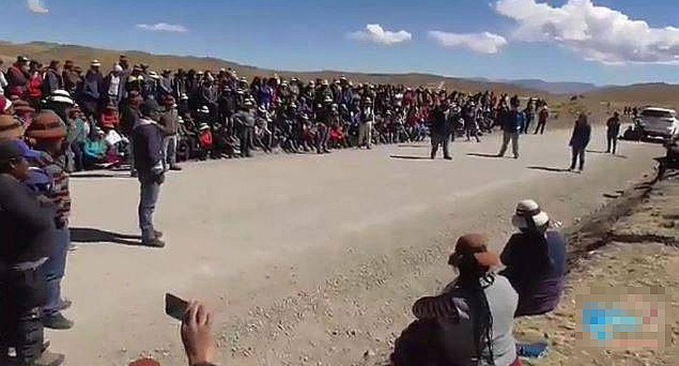 Piden declaratoria de emergencia para el Corredor Minero del Sur