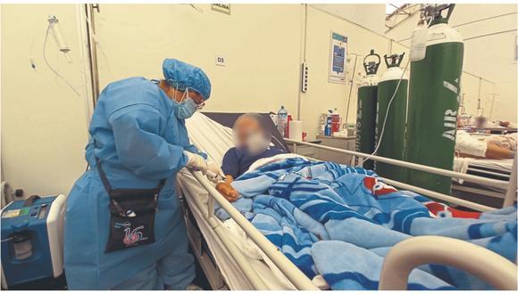 Minsa informó sobre cifra de pacientes hospitalizados por COVID-19. (Foto / GEC)